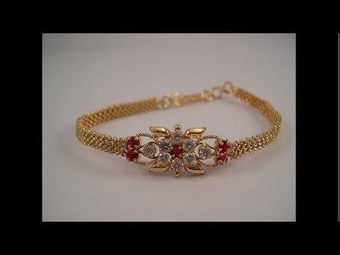 1 Gram Gold Jewellery with PRICE Bracelet Chain Ring Designs YouTube