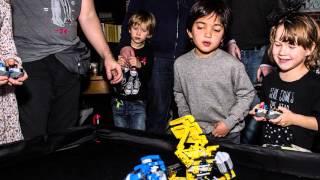 Шоу Битва роботов — это крутые радиоуправляемые лего-роботы!
