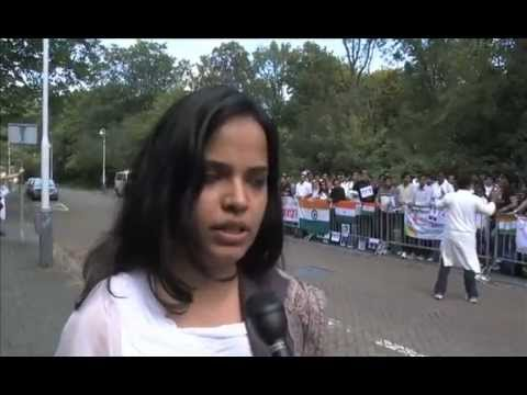 Indians demonstrate against corruption: The Hague, Netherlands 2011