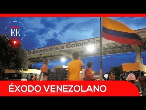 El éxodo de más de medio millón de venezolanos a Colombia | El Espectador