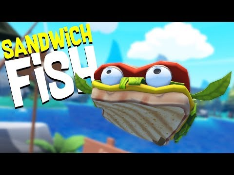 Eating the Legendary Sandwich Fish and Visiting the Coast! - Crazy Fishing HTC Vive VR