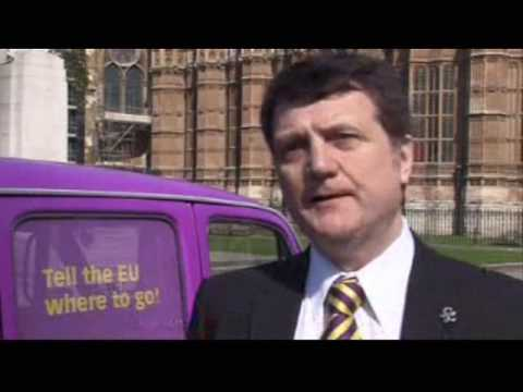 UKIP MEP Gerard Batten - London Euro Election Launch 2009