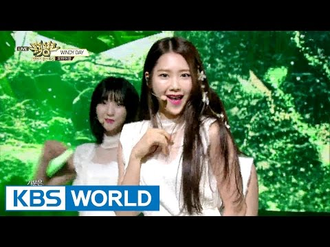 OH MY GIRL (오마이걸) - WINDY DAY [Music Bank / 2016.06.24]