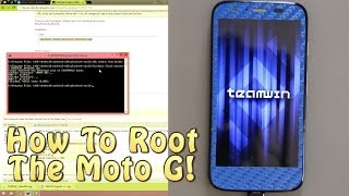 How To Install Custom Recovery and Root the Motorola G! (Moto G)