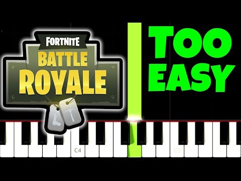 FORTNITE, but it's TOO EASY, I bet 1.000.000 YOU CAN PLAY THIS!