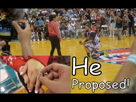 SURPRISE WEDDING PROPOSAL!! FT/ QIAS OMAR | Slimmofication Vlog
