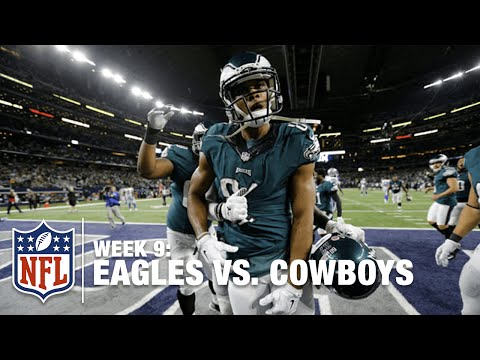 Jordan Matthews' TD Catch Clinches Victory in OT! | Eagles vs. Cowboys | NFL