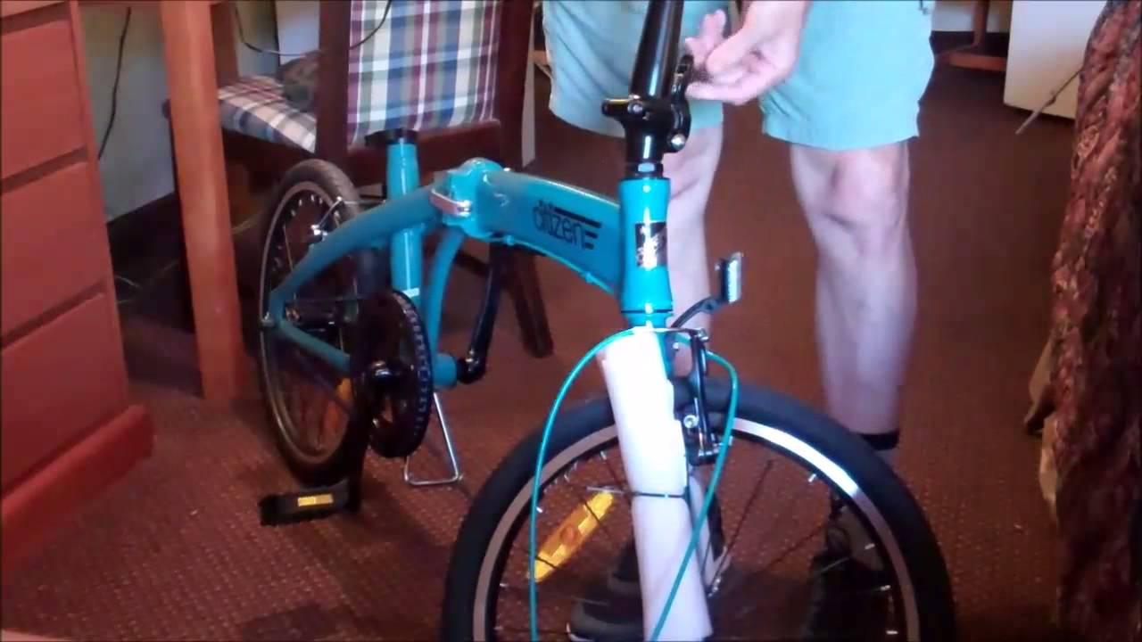 Gotham1 Citizen Bike Unboxing Assembly Youtube