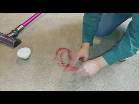 Dyson V7 Motorhead Sand in the Carpet Test