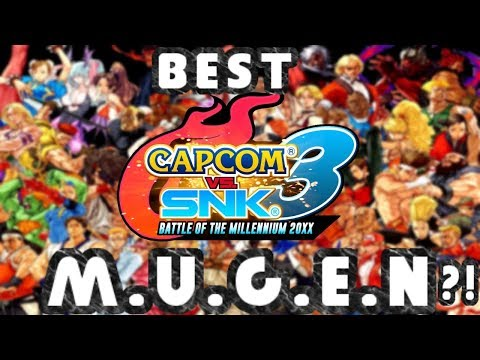 The Best Capcom V.S Game! Capcom V.S SNK 3 M.U.G.E.N (With Download)