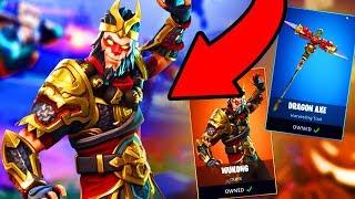 *NEW* LEGENDARY WUKONG SKIN GAMEPLAY! | Fortnite Battle Royale (LEGENDARY WUKONG NEW UPDATE)