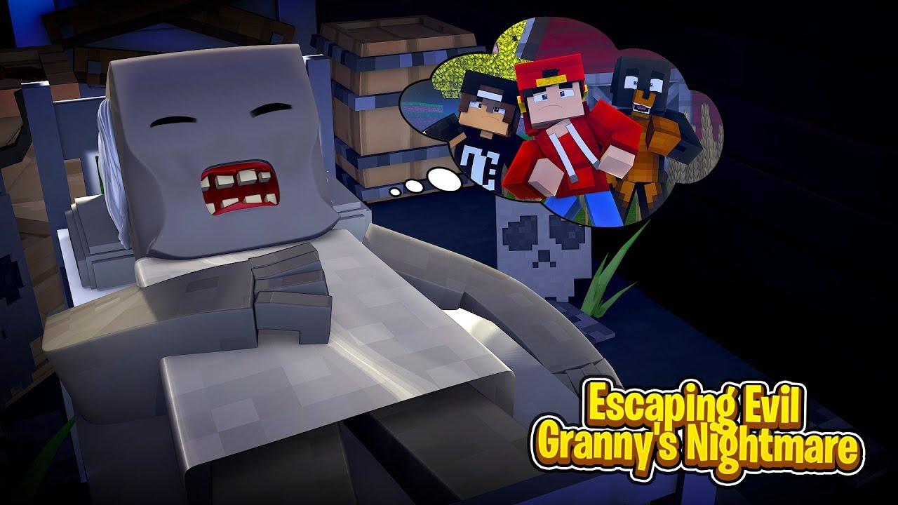 Escape Evil Grandma S House In Roblox Youtube - Minecraft Adventure Escaping Evil Granny S Nightmare Youtube
