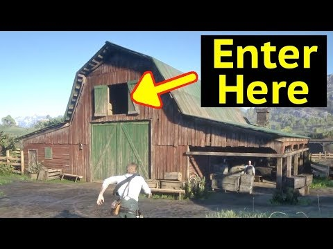 Enter Seamus Fence Barn in Red Dead Redemption 2 (RDR2): Unlock Fence and Second Floor of Barn thumbnail