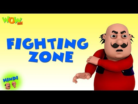 Fighting Zone - Motu Patlu in Hindi - 3D Animation Cartoon - As on Nickelodeon