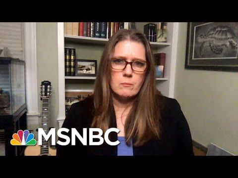 As Trump Plummets, Niece Mary Trump Tells Media To Stop Pretending He's 'Normal' | MSNBC