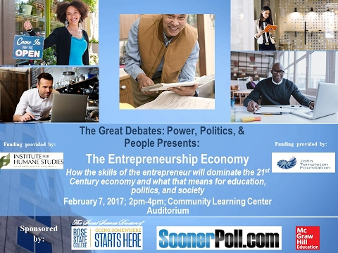 Great Debates: Power, Politics, & People - The Entrepreneurship Economy