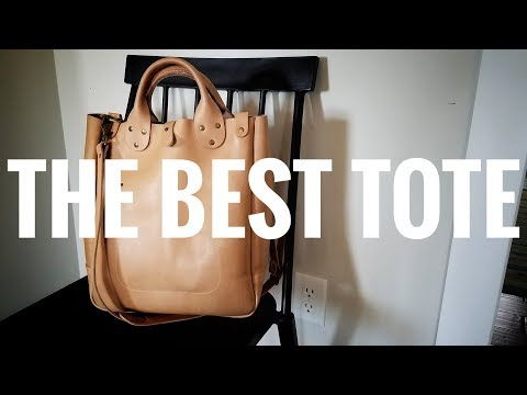 The Perfect Leather Tote - Winter Session - Leather Garrison Bag - FULL REVIEW