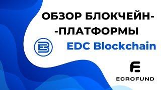 обзор блокчейн-платформы. EDC Blockchain & ECRO Fund