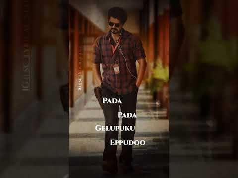 attitude-status-master-raid-song-telugu-#master