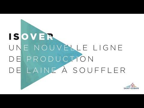 Saint-Gobain présente la nouvelle ligne de laine à souffler Isover.