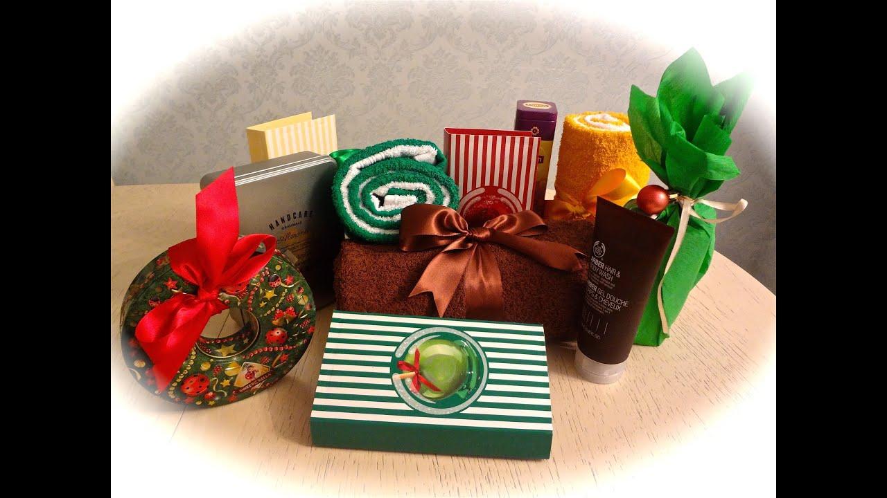 как оформить шампунь или гель в подарок