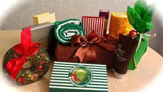 Подарки на Новый Год  (+ идеи как оформить подарок) / Собираем подарочные наборы