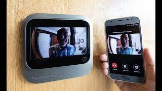 Digitální kukátko s wifi videotelefonem