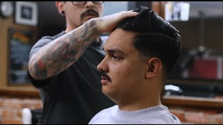 How to use Suavecito Premium Blends w/ Ron Talley at Barberia El Catrin