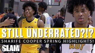 Sharife Cooper STILL UNDERRATED?!? 🤔 Full Spring Highlights!