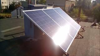 Moja mini elektrownia ,słoneczna,solarna fotowoltaiczna 750 W cz 2