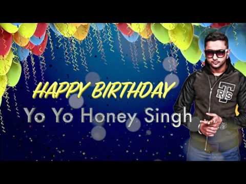 Wishing Yo Yo Honey Singh A Very Happy Birthday from Speed Records