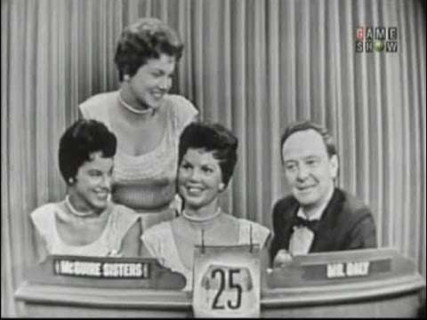 What's My Line? - The McGuire Sisters (May 29, 1955)