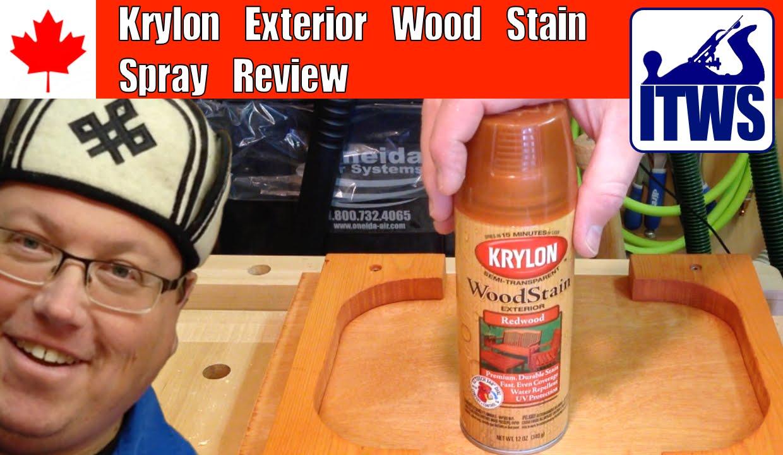 Krylon exterior wood stain spray review youtube - Best exterior wood stain reviews ...