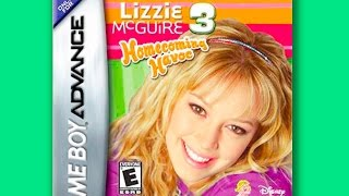 Lizzie McGuire 3: Full Video Game Walkthrough | Disney Games for Kids 2015
