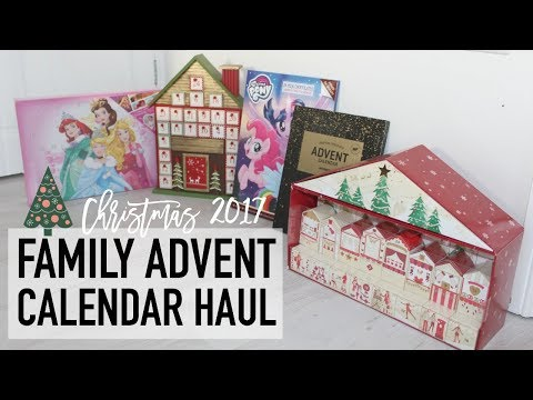 Family Advent Calendar Haul | DIY KINDNESS CALENDAR