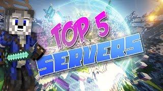 TOP 5 MEJORES SERVERS DE MINECRAFT NO PREMIUM l 1.11/1.10/1.9/10.8.8/1.8/1.7.2/1.7.9 2017!