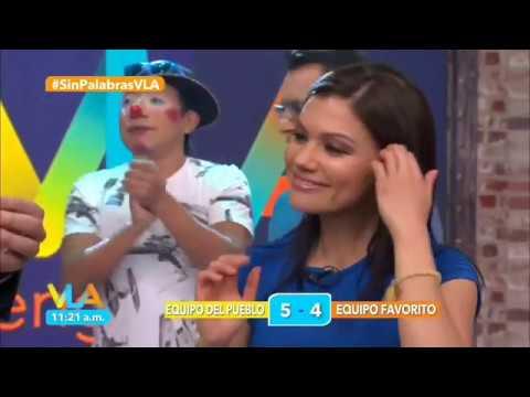 Tabata Jalil mega descuido tanguita blanca UPSKIRT EN HD