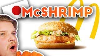 I Tried Weird Japanese McDonald's Burgers