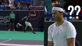 "When ""Exhibition"" Turns Into WAR! Most BRUTAL Match in Tennis History #2 (Nadal VS. Tsitsipas)"