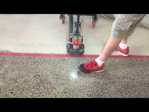 7 inch easy grinder demo