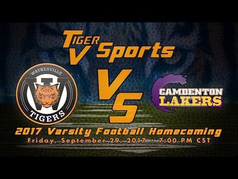 9-29-17 Waynesville vs Camdenton Varsity Football