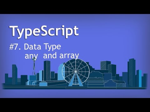 Typescript tutorial for beginner to advance in Hindi | any and array Data type thumbnail
