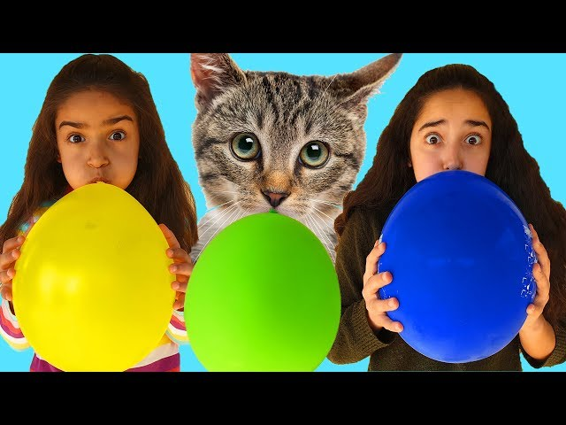 Esma's Magic Balloons and Cute Cat