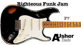 Righteous Funk in F | Guitar Jam Track