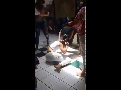 Crazy Fight and Drama in a Hair Salon