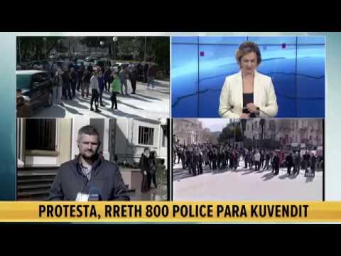 Protesta e Opozitës/ Pas Braçes, Edi Rama mbërrin në Kuvend i shoqëruar nga eskorta - Pj.2
