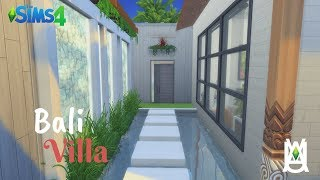 Bali Villa 🇮🇩🌴 [Stop Motion Speed Build] - The Sims 4