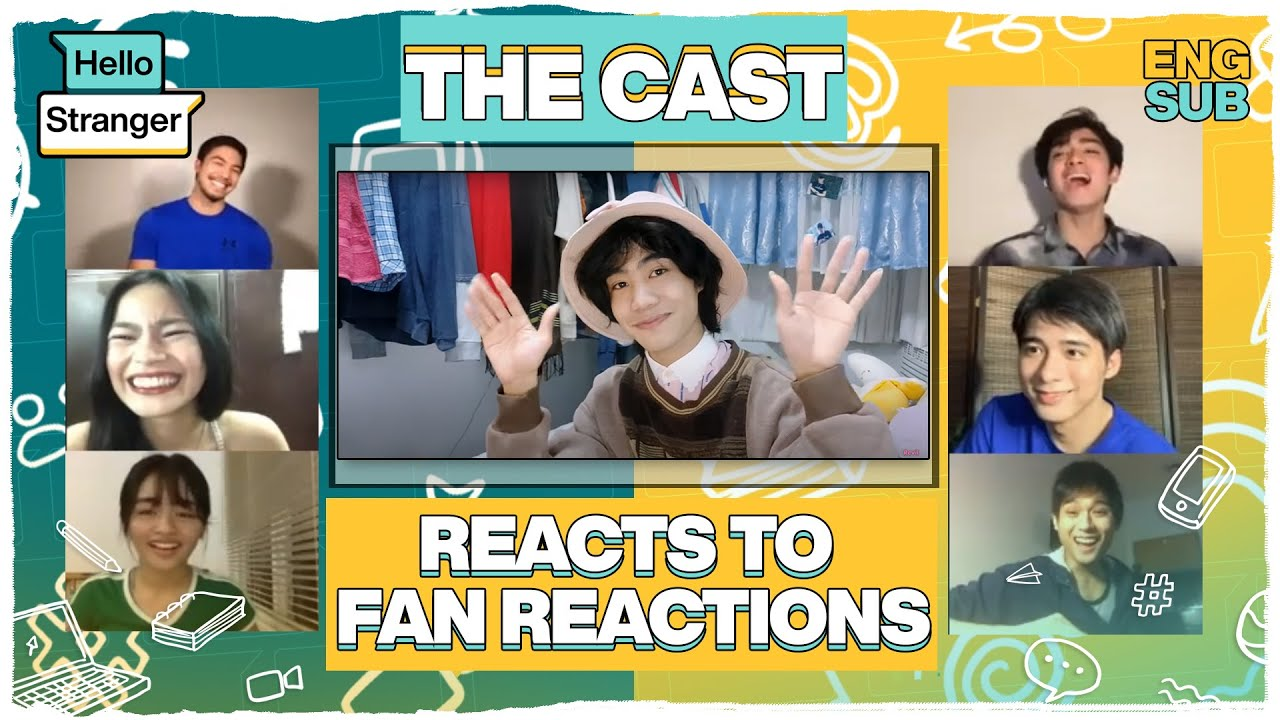 The Hello Stranger cast reacts to fan reactions!