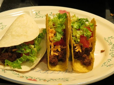 Tacos with Gardein Beefless Ground (gluten-free, vegan)