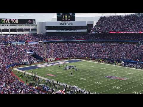Bills Shout Song after Mike Tolbert TD 10SEP2017